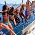 una fiesta en barco