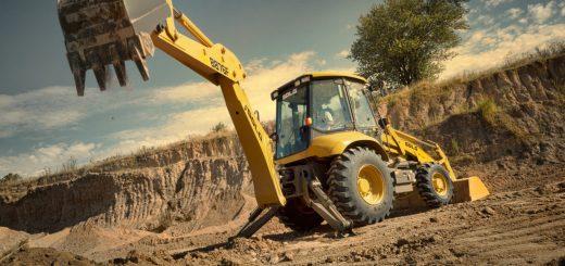 Arriendo de retroexcavadora en Santiago para proyectos de construcción
